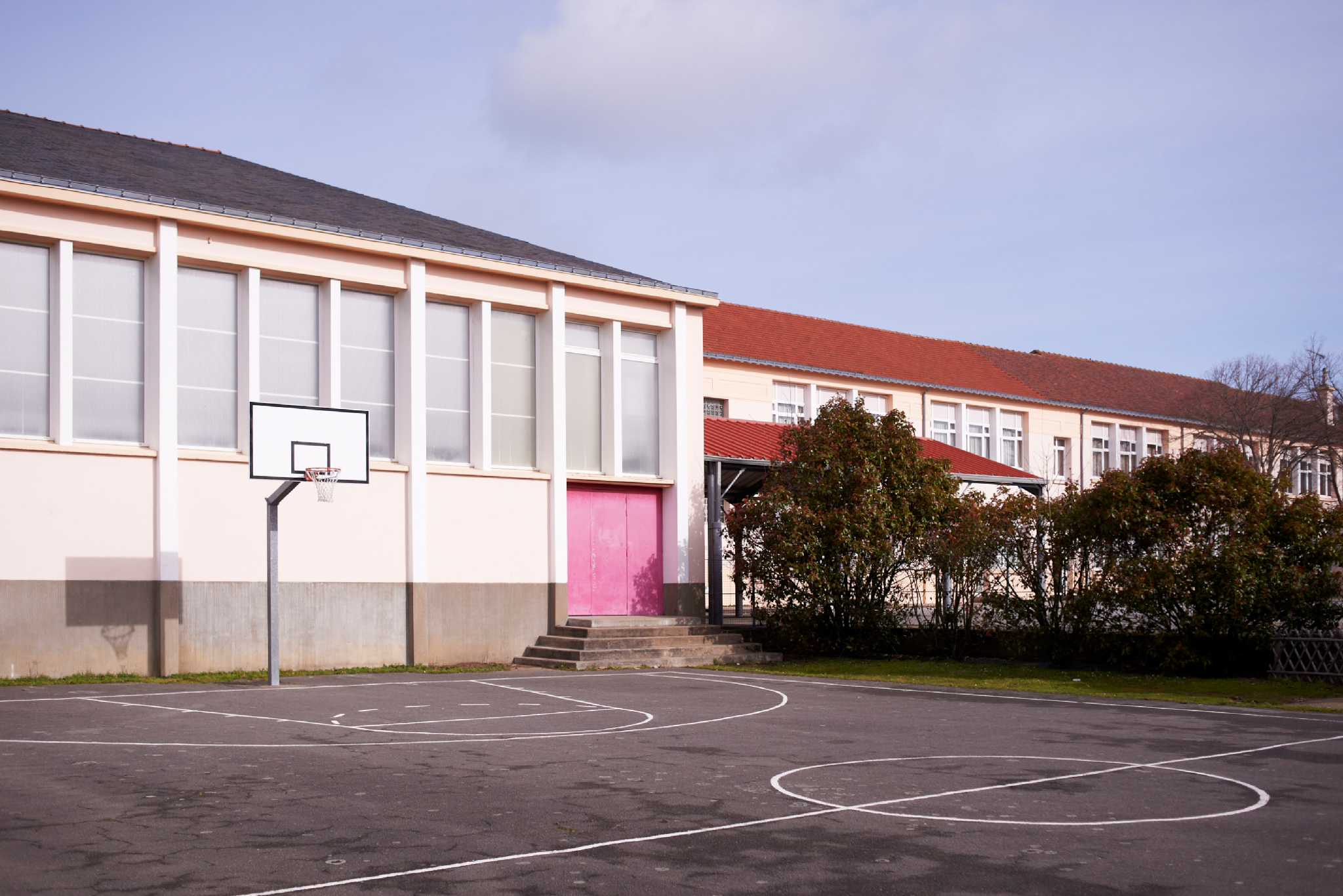 Reportage photo architecture ecole Saint - Nazaire