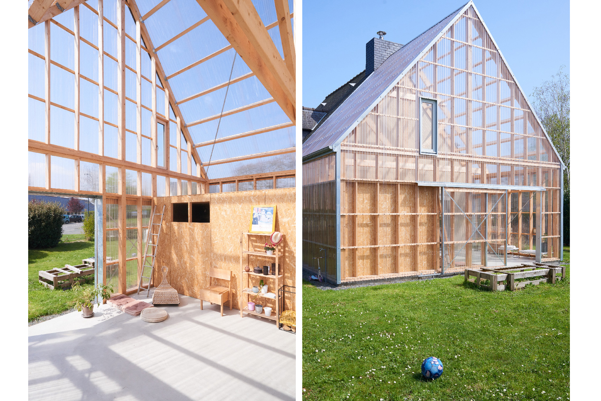 Photographie architecture extension maison bretagne