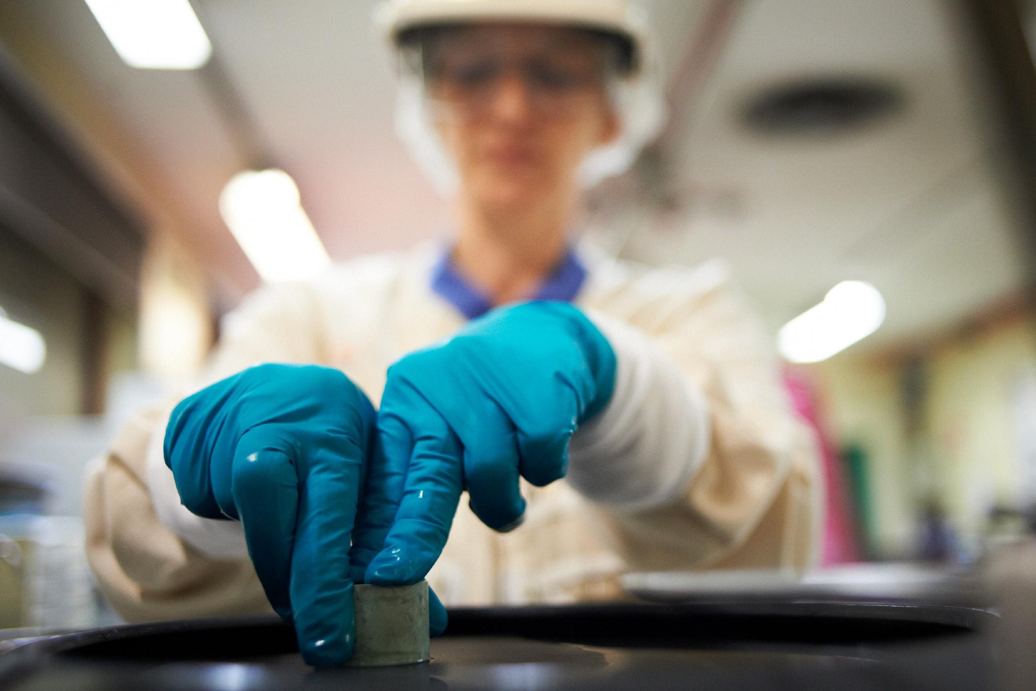 Portraits Laboratoire AMI  - Centrale Nucleaire EDF - CHINON